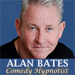 Alan Bates - Comedy Hynotist, stage shows and performances